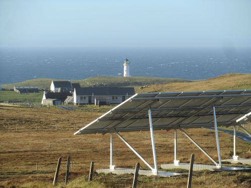 Fair Isle Solar PV Lighthouse