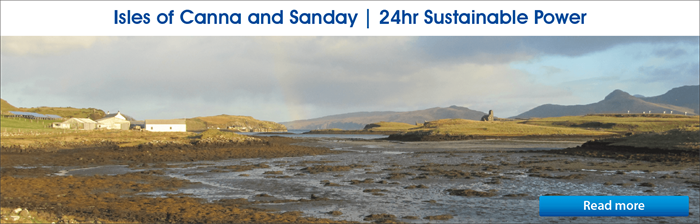 Isles of Canna and Sanday Banner 02