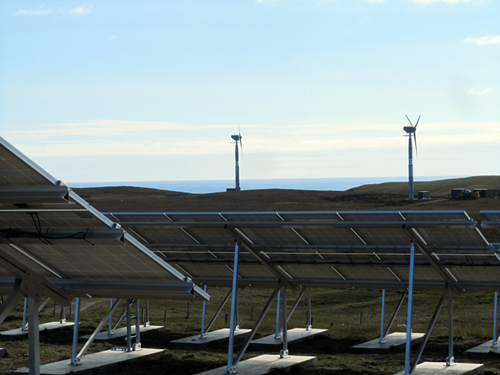 Fair Isle Solar PV and Wind