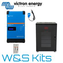 Self-Consumption Battery Storage Kits | Wind & Sun
