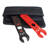 Staubli Multi-Contact Metal Open End Spanner And Unlocking Tool With Pouch