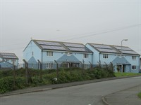 REC Solar PV Panels On Council Houses Anglesey 01