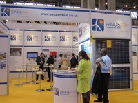 Wind Sun Exhibit At Solar Power UK 2012 02