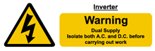 W&S Inverter Label