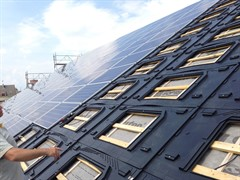 GSE Integration Integrated Solar PV Mounting System Install 02