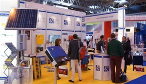 Wind Suns Stand At Solar Energy UK 2013