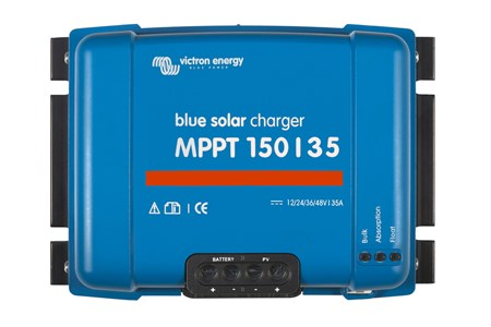 Victron BlueSolar Charge Controller MPPT 150-35 Front