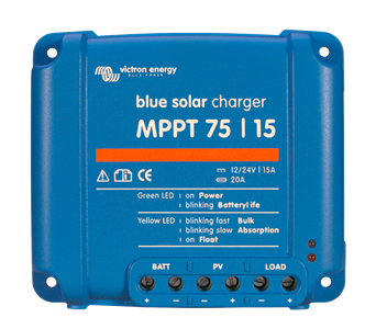 Victron Blue Solar Charge Controller MPPT 75-15