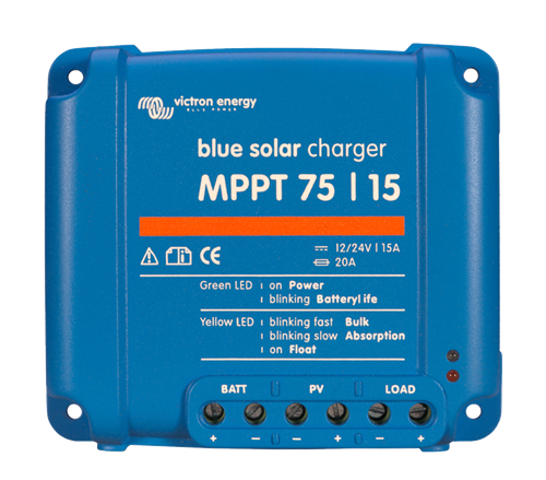 Victron Blue Solar Charge Controller MPPT 75-15 Front