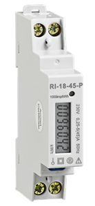 Rayleigh Instruments DIN Rail Mounted kWh Generation Meter