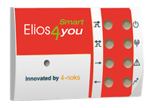 Elios4you Smart Red Cap to upgrade standard Elios4you transmitter