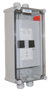 Batter Inverter Breaker In Enclosure Small