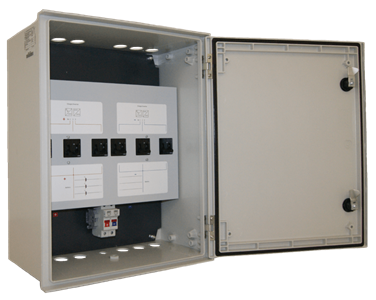 Battery Inverter Breaker In Enclosure Big