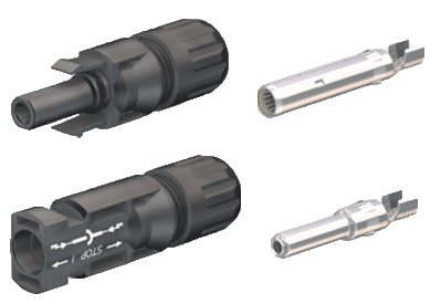 MultiContact Type 4 MC4 Connectors
