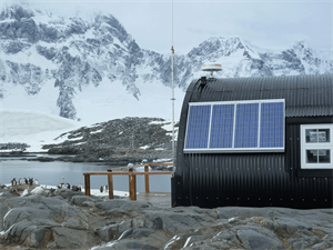 Small Off Grid PV System - Antarctic Heritage Trust
