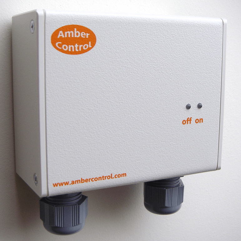 Amber Control Frequency Controlled Switch Icon