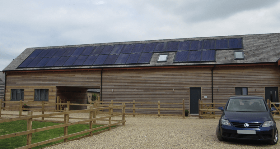 Cedar Barn By Deluxe Developers GSE Integration Mounting System Innotech Solar Panels 03