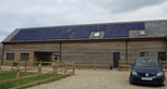 Cedar Barn By Deluxe Developers GSE Integration Mounting System Innotech Solar Panels