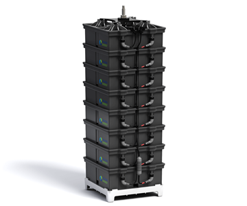 Aquion Energy S-Line Battery Stack
