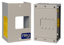 Quad Panel Mount Breaker Box