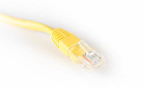 Yellow Coms Cable