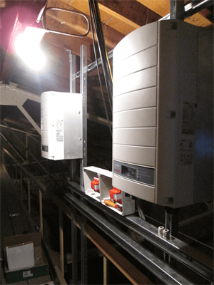 SolarEdge Inverters at Gloucester Cathedral