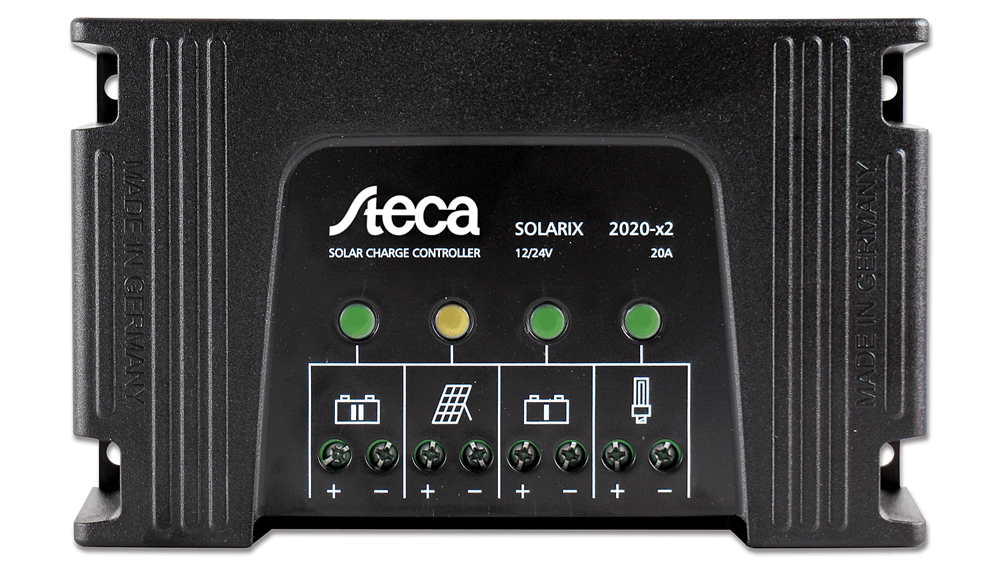 Solar Charge Controller Steca 4040 12//24v with Lcd-Display and USB Socket