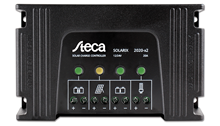 Steca Solarix 2020 X2 Solar PV Dual Battery Charge Controller Front