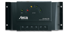 Steca Solarix PRS Solar PV Charge Controller Front
