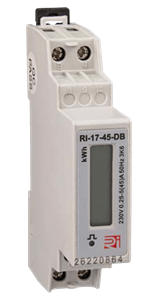 Rayleigh Instruments RI-17-45-DB DIN Rail Mount kWh Meter