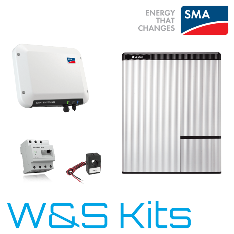 Self Consumption Battery Storage Kits Wind Amp Sun