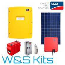 SMA Sunny Island Off-Grid FiT Kit