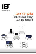 IET Book Code Of Practice For Electrical Energy Storage Systems