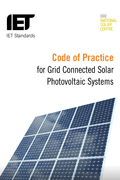 IET Book Code Of Practice For Grid Connected Solar Photovoltaic Systems