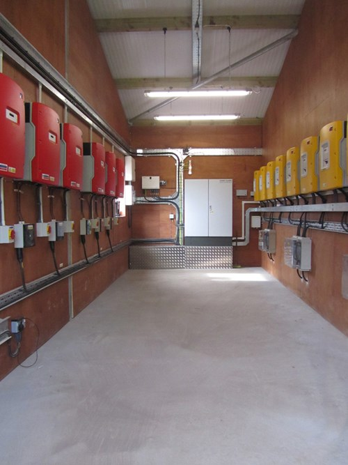 Isle Of Muck Inverter Plant Room