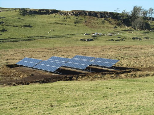 Isle Of Muck PV Array