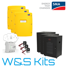 SMA Sunny Island Commercial Battery Storage System with BYD Kit